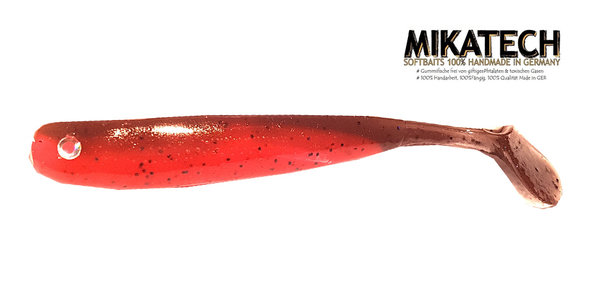"MIKATECH Real Shad 9cm ""Max Tuned Red Craw"" UV"