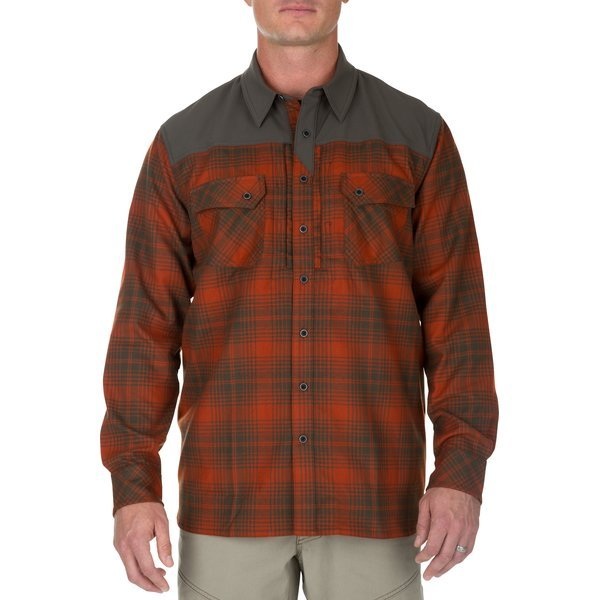 5.11 Sidewinder Flannel Shirt (Fireball)